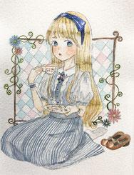 花園あおこ   /   tea time