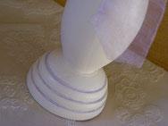 BO030 - Dettaglio base di legno decorata a mano