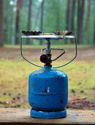シングルバナーやガス缶の種類