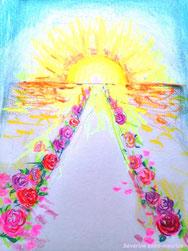 severine Saint-maurice, lescerclesdelumiere, dessin, spiritualité, éveil