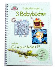 Nähbuch, Nähanleitung, Anfänger, Spielbuch, Babygeschenk, Baby, Stoffbuch
