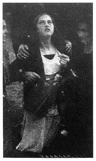 Maria Dolorez Nunez lors d'une vision