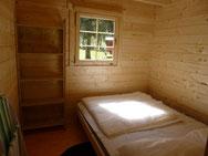 Log Cabin camping carpe diem
