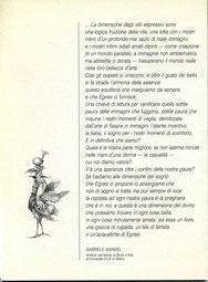 testo critico di Gabriele Mandel