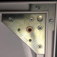 Einrahmen; Nielsen Alurahmen mit Bildaufhänger metall