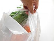 分解されないプラスチックとレジ袋