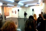 T.Bixquert hablando en la Exposición