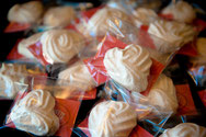 Baked Meringue Treat Bags