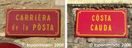 Noms de carrièras en occitan a Gramat