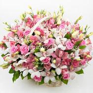 Корзины из цветов в Подольске