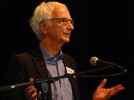 Der Gastgeber: Prof. Michael von Engelhardt (Förderverein Theater Erlangen)