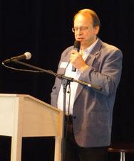 Dr. Uli Glaser referiert über bürgerschaftliches Engagement