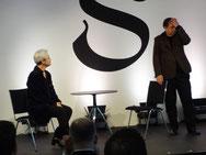 Adeline Schebesch und Thomas Nunner
