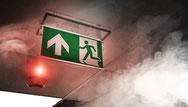 Evakuierung Brandschutzhelfer