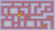 verzamel alle gele hartjes