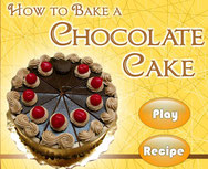 chocoladecake virtueel (Eng.)