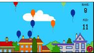ballonnen laten springen door muissleep