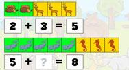 getallen splitsen tot 10- digipuzzel - instelbaar