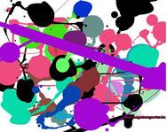 Pollock : schilderen + uitprinten
