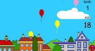 ballonnen prikken rustig of snel