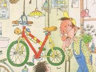 de fiets thinglink met opdrachten
