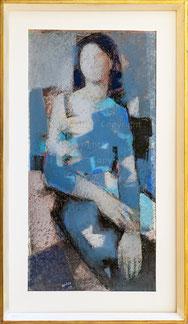 Nr.3661 Femme bleue
