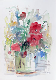 Nr. 2266  Blumenstilleben (Glas 01)