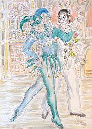 Nr. 1314 Karneval Venedig