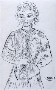 Nr. 2623 Bauernmädchen