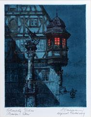Nr.2217  Marien-Erker bei Nacht