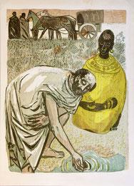 Nr. 1863 Taufszene