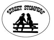 Wir sind die Street Stompers und dies ist unser Logo. Du findest uns in Anger.