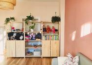 Beratungsraum bei der Familienpraxis Mohnblume in Berlin Tegel