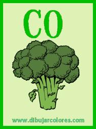 segunda carta baraja brocoli