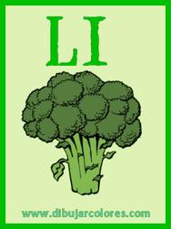 tercera carta baraja brocoli