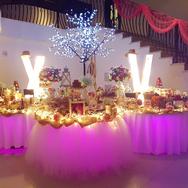 mesa de dulces para 15 años