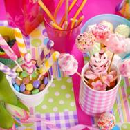 mesa de dulces infantil