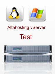 vServer Alfahosting Test
