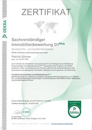 Aktives Mitglied im Verband Europäischer Gutachter und Sachverständiger