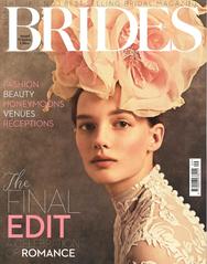 Hochzeitsfein wurde im Condé Nast Brides Magazine gefeatured (Ausgabe September/Oktober 2019)