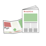 Grafik /Flyer/Broschüren/Faltblätter