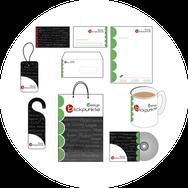 Grafik/Briepapier/Visitenkarten/ Verpackungen /Druck