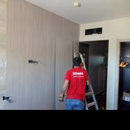 Instalacion de mobiliario de hotel