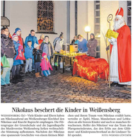 Feldkreuz an Wildberger Steige eingeweiht
