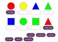 oefenen op kleuren en vormen