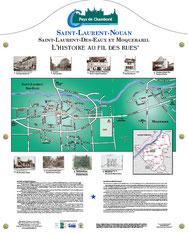 Histoire au fils des rues Saint Laurent Nouan