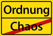 Chaos raus, Ordnung rein