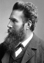 Porträt von W.C. Röntgen