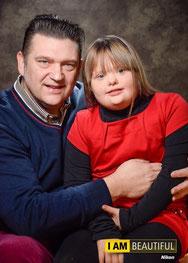 Samen met mijn dochter Mabel