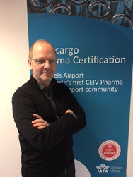 Frank Van Gelder heads Pharma.Aero – company courtesy
